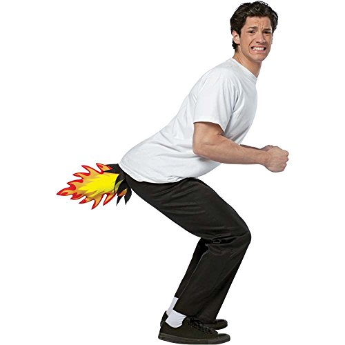 Butt Blaster Funny Adult Costume - One Size