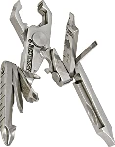 Swiss+Tech ST53100 Micro-Max 19-in-1 Key Ring Multi-Function Pocket Tool by Swiss+Tech