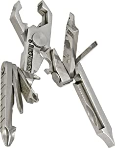 Swiss+Tech ST53100 Micro-Max 19-in-1 Key Ring Multi-Function Pocket Tool
