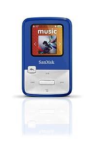 SanDisk Sansa Clip Zip 4GB MP3 Player (Blue)