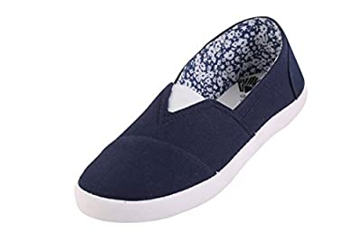Globalite Women's Casual Shoes Fighter Navy White GSC1135 UK/UN