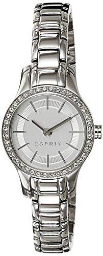 Damen-Armbanduhr XS Analog Quarz Edelstahl ES107092001