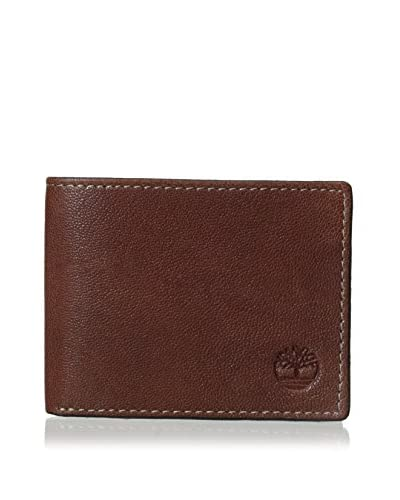 Timberland Men's Cavalieri Slimfold Wallet, Brown