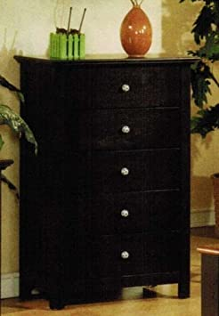 Chest with Soccer Design Handles in Espresso Finish