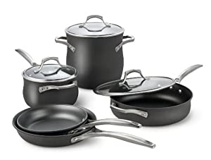 Calphalon Unison Nonstick 8-Piece Cookware Set