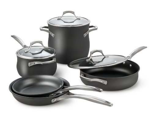 Calphalon Unison Nonstick 8-Piece Cookware Set (Calphalon Unison 3 Quart Sauce compare prices)