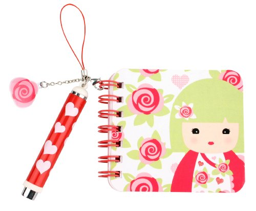 Kids Preferred Kimmidoll Junior Mini Notebook and Pen, Jemma - 1