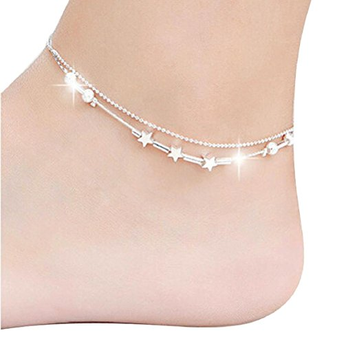 Susenstone Little Star Women Chain Ankle Bracelet