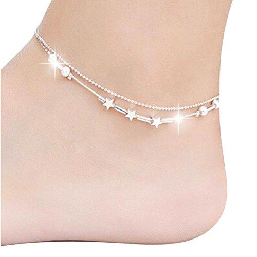 Susenstone®Little Star Women Chain Ankle Bracelet Barefoot Sandal Beach Foot Jewelry