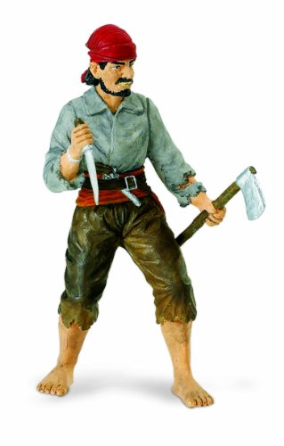 Safari Ltd  Pirates Boatswain Benjamin Jeffrey Figure