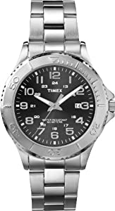 Timex Men's T2P391 Elevated Classics Dress Silver-Tone Stainless Steel Bracelet Watch