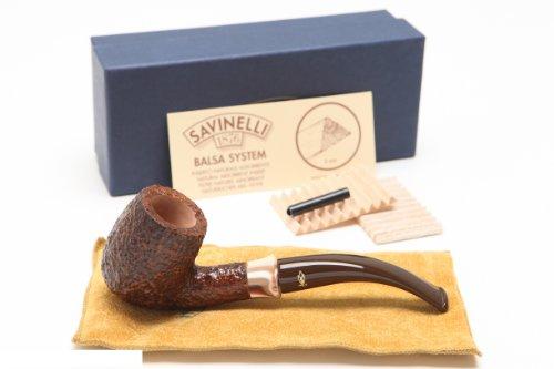 Savinelli Caramella Rustica 606 Tobacco Pipe