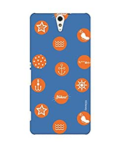 Pick Pattern Back Cover for Sony Xperia C5 Ultra