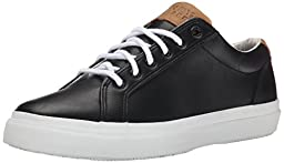 Sperry Top-Sider Men\'s Striper LTT Leather Boating Shoe, Black, 10.5 M US