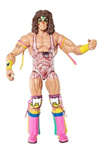 WWE Elite Collection Ultimate Warrior Action Figure from Mattel