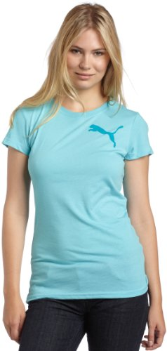 PUMA Women's Usp Chest Cat Tee