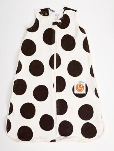 Gunamuna Gunapod Wearable Blanket Natural Collection, Chocolate/Cocoon, Medium front-153270