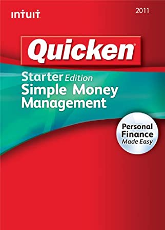 Quicken Starter Edition 2011 [Download] [OLD VERSION]
