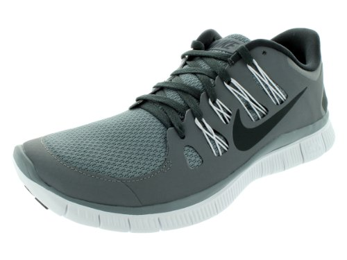 Nike Nike Men's NIKE FREE 5.0+ RUNNING SHOES 11 Men US (COOL GREY/ANTHRACITE/WHITE)