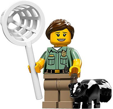 LEGO-Series-15-Collectible-Minifigure-71011-Animal-Control