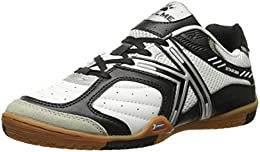 Star 360 Mens Michelin Leather Mesh Inset Soccer Shoes White Black Blanco Y Negro 105 DM US