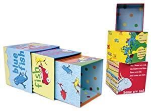 Dr. Seuss One Fish Stacking Blocks (Discontinued by Manufacturer)
