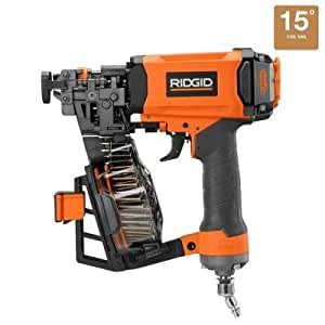 Ridgid 1 3 4 In Roofing Coil Nailer Amazon Com