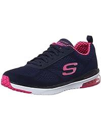 Skechers Sport Women's Skech Air Infinity Fashion Sneaker Navy/Pink 9.5 B(M) US