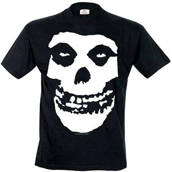 Cinderblock The Misfits Skull Men's T-Shirt Black Small