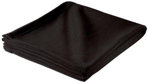 Sport-Tek- Sweatshirt Blanket. Bp50 - Black front-537798
