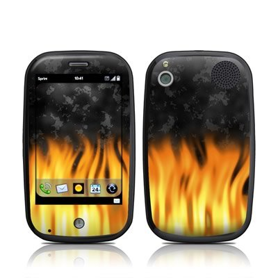 BBQ Flames Design Skin Decal Sticker for Palm Pre Cell Phone