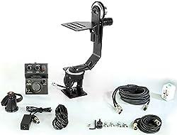 New Flyfilms Motorized Pan Tilt Jerk Free Dual Rotation Remote Head for Jib Video Wedding DSLR DV camera