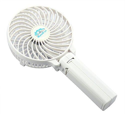 Electric Personal Fans with Foldable Fans Hand Bar Desktop Fan Hand ...