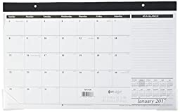 AT-A-GLANCE Compact Desk Pad Calendar 2016, 17-3/4 x 9-7/8 Inches (SK14-00), 2 Packs