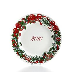 Martha Stewart Collection Limited Edition Holiday Garden Plate