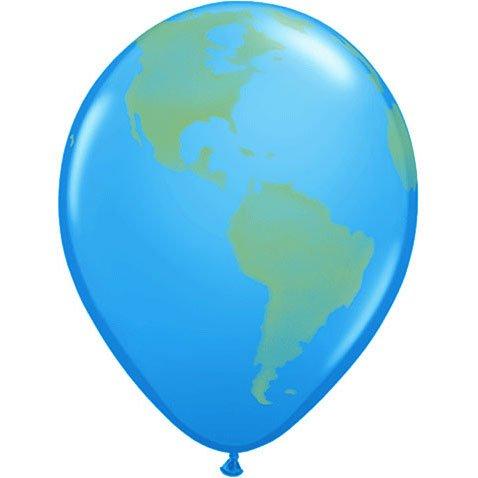 "11"" Globe Spray (dk Blue) - 1"