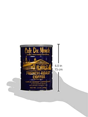 Café Du Monde French Roast Coffee, Net Wt. 13 oz from Café du Monde