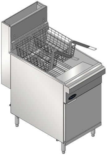 Pantin Floor Model Gas Deep Fryer PF-65N/L