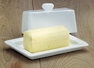 WM Bartleet & Sons Small Terrine / Butter Dish with Lid