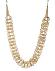 Amaira Jewels Gold Plated Strand Necklace For Women - B0133GARGO