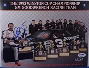 Signed Dale Earnhardt Sr. Picture - EXTREMELY RARE 8x10 Card LOA WOW!!! - PSA DNA... by Sports Memorabilia