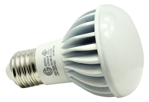 Genuine Great Eagle Led Br20/R20 Idealk Bulb. 7W = 60W Equivalent Ul Certified 3000K 120° Beam Angle Fully Dimmable Wide Flood Light For Recessed And Track Lighting Fixtures - 5 Year Warranty Backed By Usa Seller. Replacement Bulb For Incandescent Or Halo