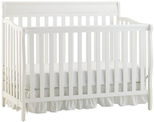 Graco Stanton Convertible Crib, Classic White front-951793