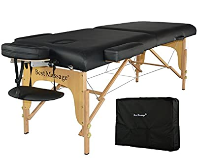 "4"" Pad Folding Portable Massage Table"