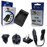 Ex-Pro Canon BP819, BP-819 - Replacement Digital camera - Battery & Charger - Bundle [VALUE PACKAGE KIT]