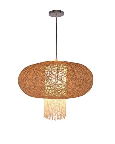 International Designs The Nettle Ceiling Lamp, Cream