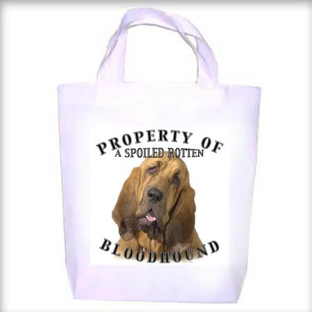 Bloodhound Property Shopping - Dog Toy - Tote Bag
