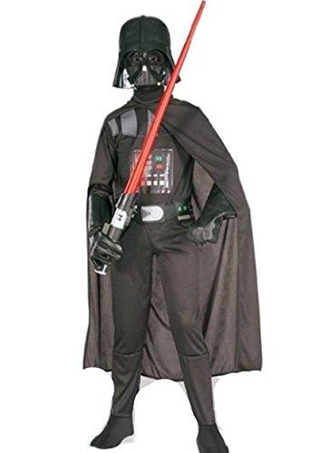 Star Wars Darth Vader Fancy Costume da età 4-12 anni disponibili