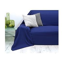 Colcha | Cubrecamas Vaganza | 140x210 cm | 100% algodón | Color: Azul