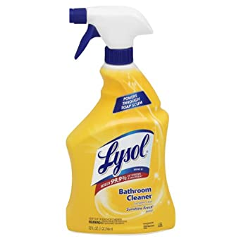 Lysol power bathroom cleaner trigger dispenser bottle for Lysol power bathroom cleaner